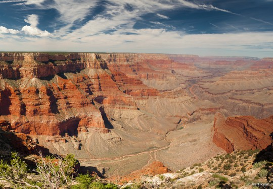 Grand Canyon Panorama, Arizona USA