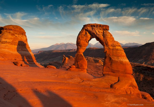 Delicate Arch, Arches National Park, Utah USA