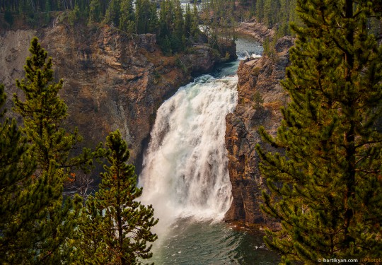 Yellowstone Upper Falls, Wyoming USA
